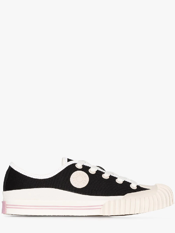 Acne Studios Black BlÅ Konst Logo Patch Sneakers