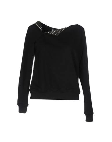 Saint Laurent Sweatshirt In Black