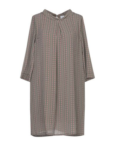 Hopper Short Dress In Dove Grey