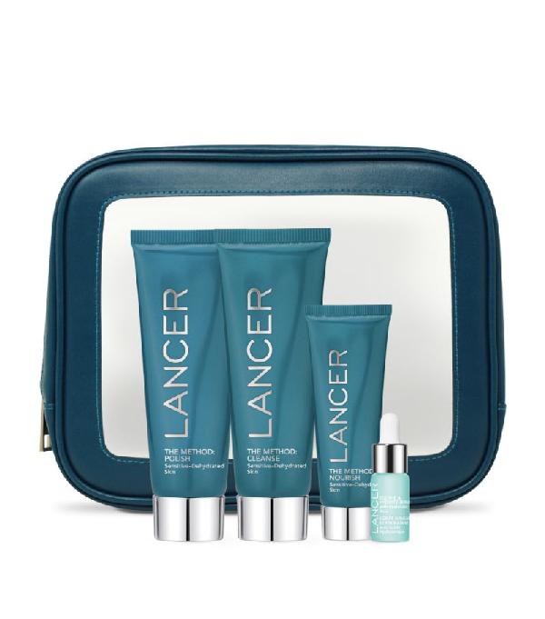 Lancer The Method Intro Kit For Sensitive Skin In White