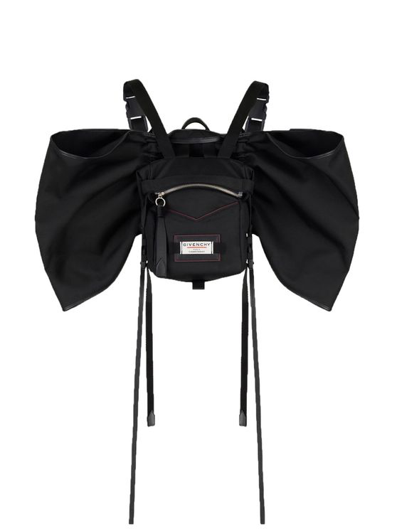 Givenchy Downtown Bow-embellished Backpack In Black