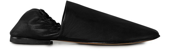 Bottega Veneta Men's Unstructured Leather Loafers In 1000 Black