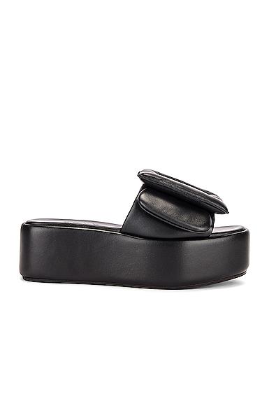 Boyy Puffy Sandal Platform In Black