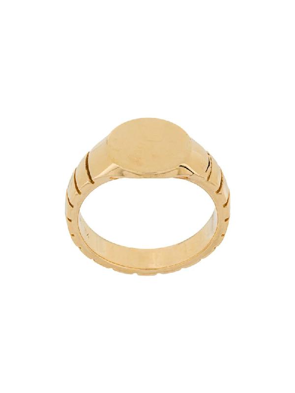 I.v.i. Signore Signet Ring In Gold