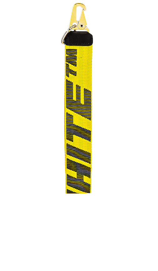 Off-white 2.0 Industrial Key Holder In Yellow In Yellow/black