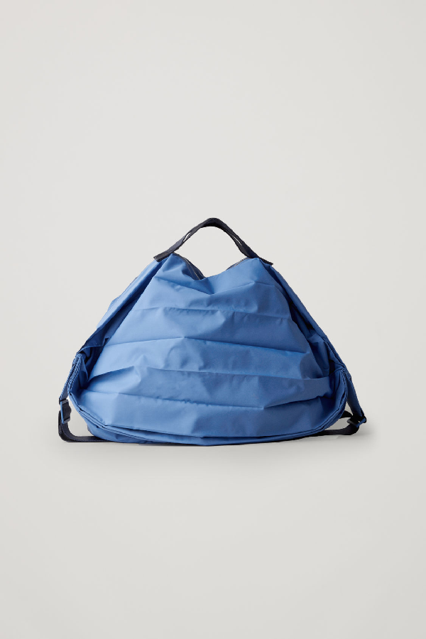 Cos Technical Gym Bag In Blue