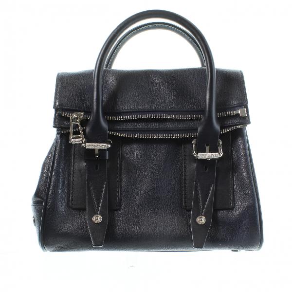 Belstaff Navy Leather Handbag