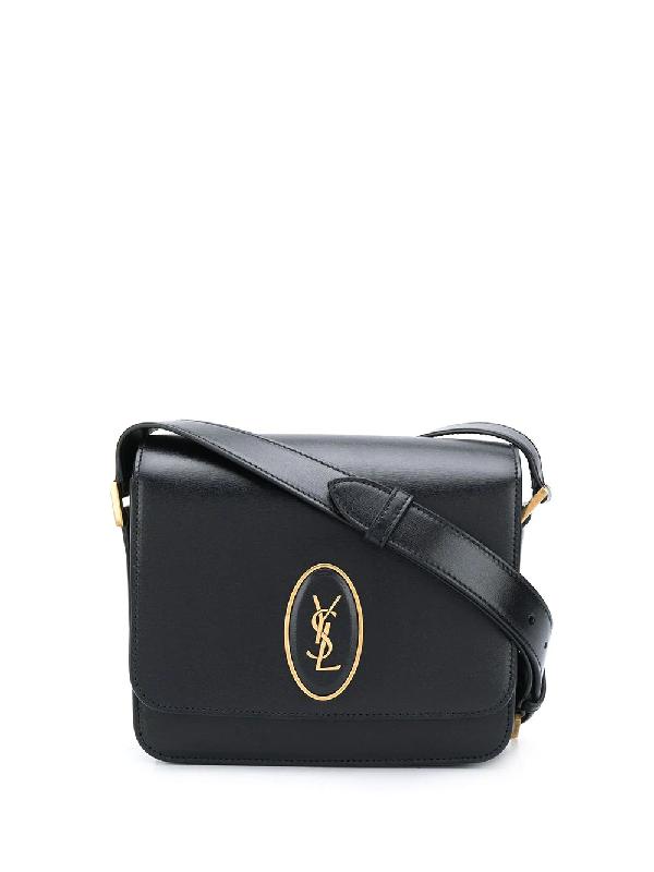 Saint Laurent Le 61 Small Saddle Bag In Black