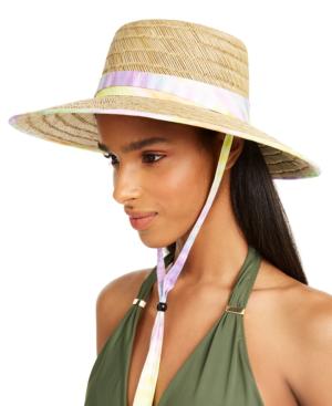 Body Glove Straw Lifeguard Hat In Kalaidoscope Print