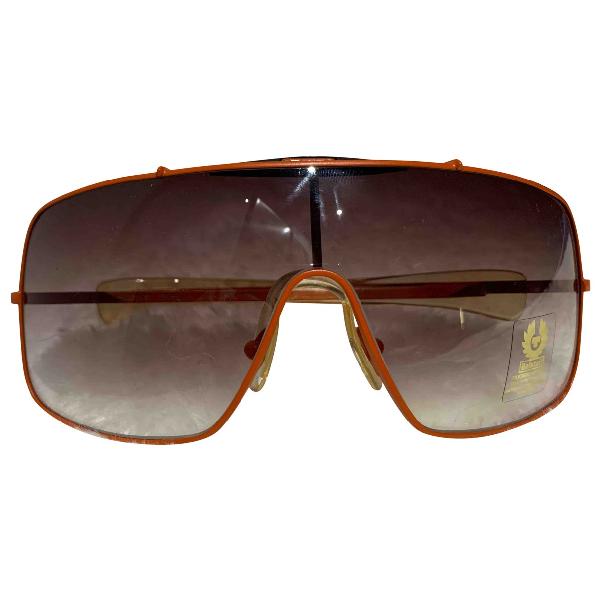 Belstaff Orange Metal Sunglasses