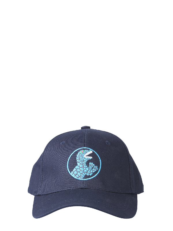 Ps By Paul Smith Baseball Cap In Blue