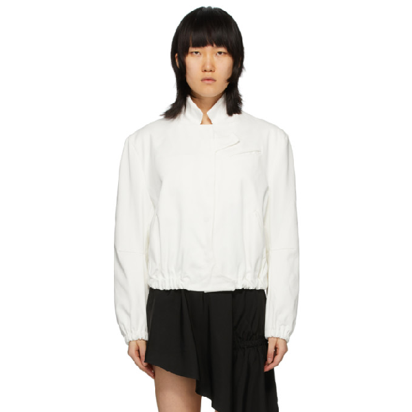 Vejas White Android Tailored Jacket