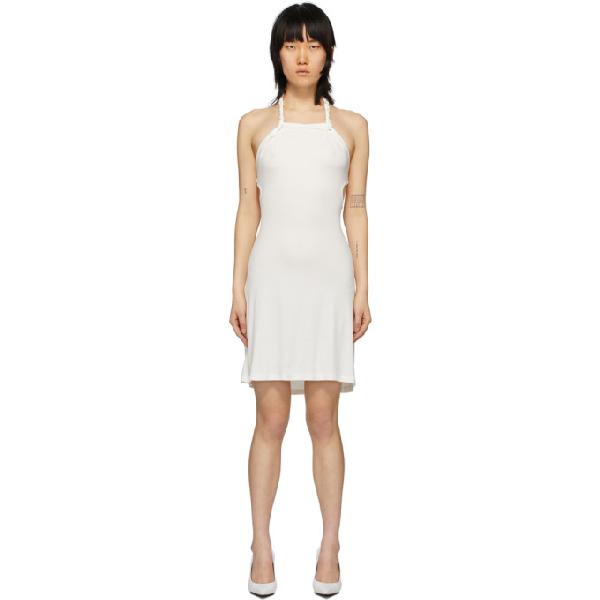 Vejas Ssense Exclusive White Braided Mini Dress