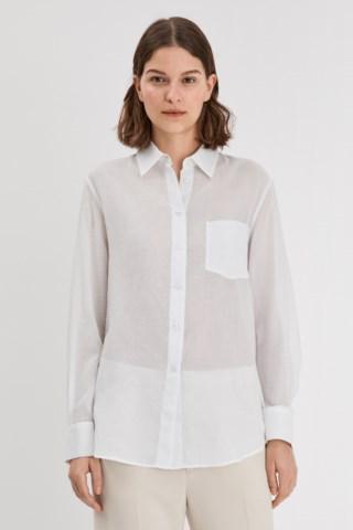 Filippa K Daphne Shirt In White