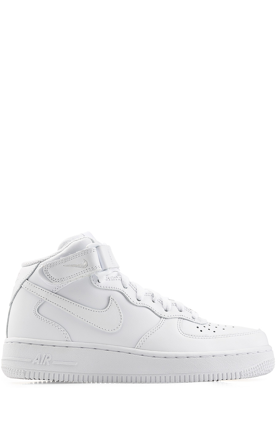 Nike Airforce 1 Suede High Top Sneakers In White