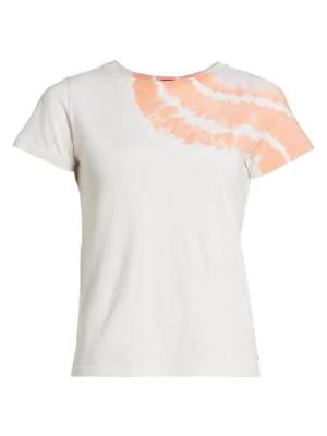N:philanthropy Jigsaw Hand Dye T-shirt In Sunset Tie Dye