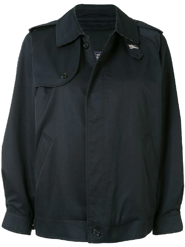 Burberry Trenchcoat-inspired Jacket In Blue