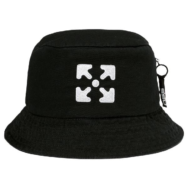 Off-white Arrows Bucket Hat Black/white