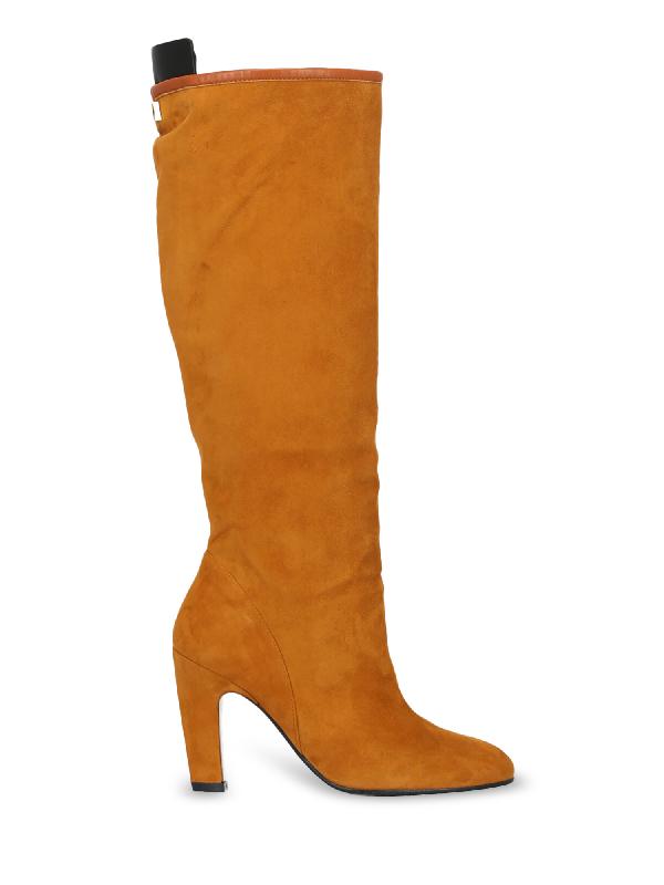 Stuart Weitzman Boots In Camel Color