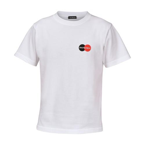 Balenciaga T-shirt In Cotone Con Logo Uniform In White