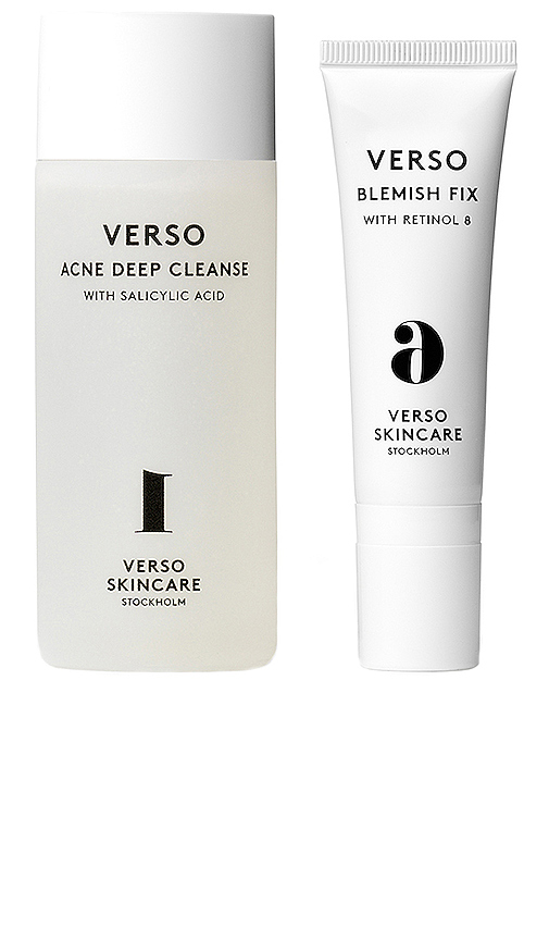 Verso Skincare Cleanse And Refine Kit In N,a