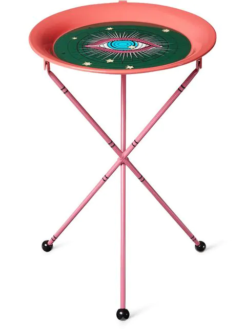 Gucci Star Eye Folding Table In Red