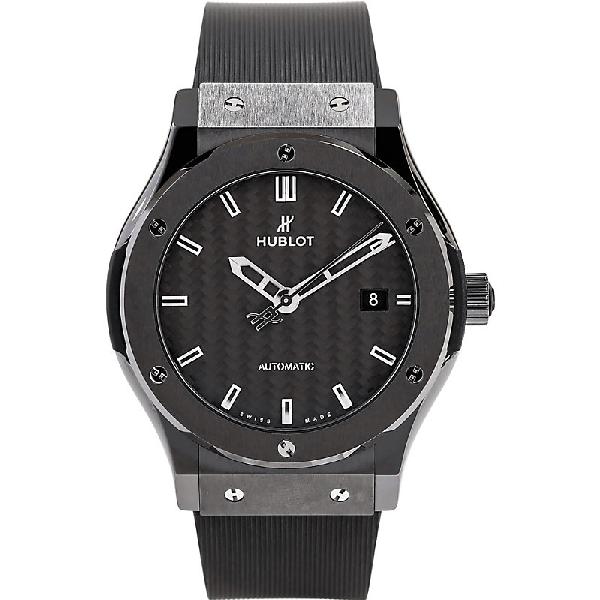 Hublot 542.cm.1770.rx Classic Fusion Ceramic Watch In Black