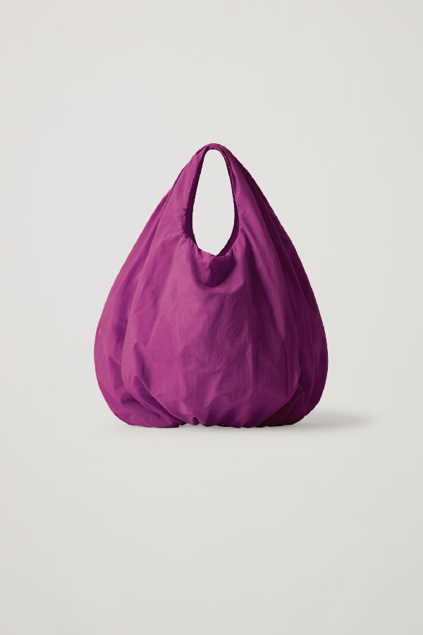 Cos Small Lightweight Shopper In Pink