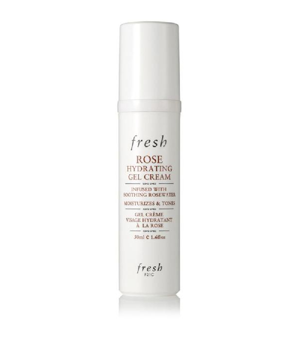 Fresh Rose Hydrating Gel Cream In White
