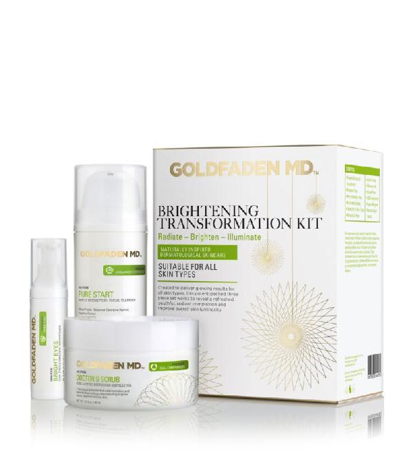 Goldfaden Md Brightening Transformation Kit In White