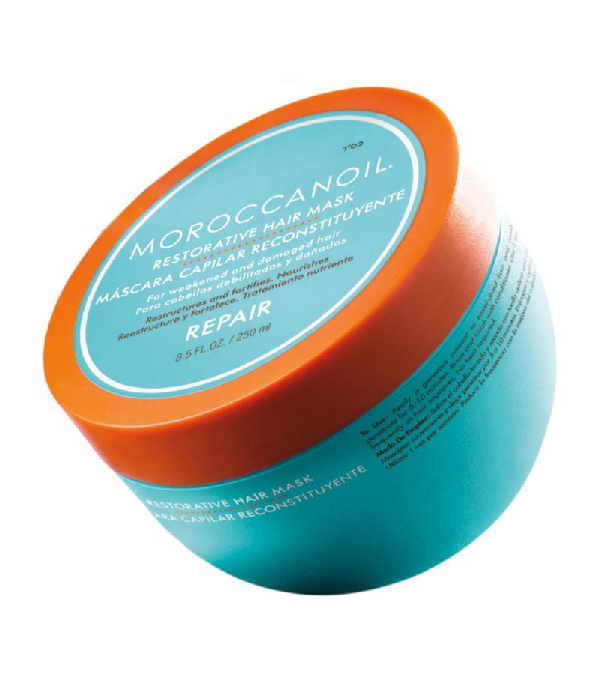 Moroccanoil Restorative Hair Mask In White