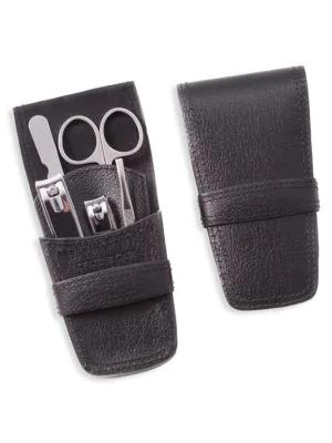 Bey-berk 6-piece Manicure Set In Black