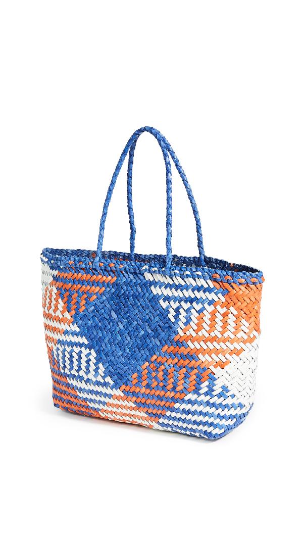 Dragon Diffusion Gora Mini Multi Bag In Ink Blue/orange/white