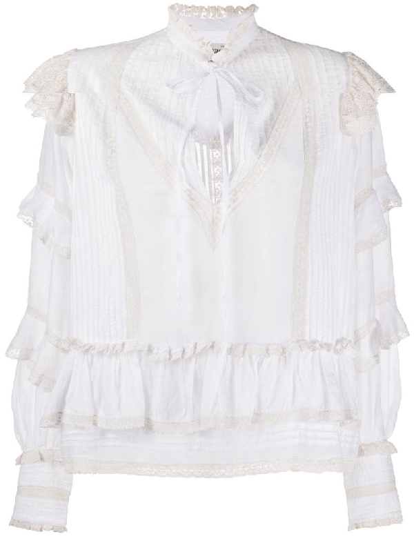 Zadig & Voltaire Trinity Blouse In White