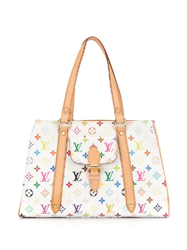 Louis Vuitton 2006 Aurelia Mm Shoulder Bag In White
