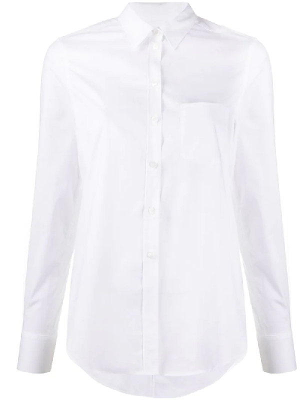 Filippa K Classic Stretch Shirt In White