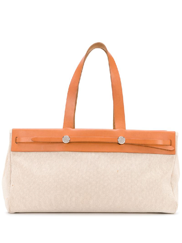 Hermes 2000s Pre-owned Her Bag Gm Tote In Brown