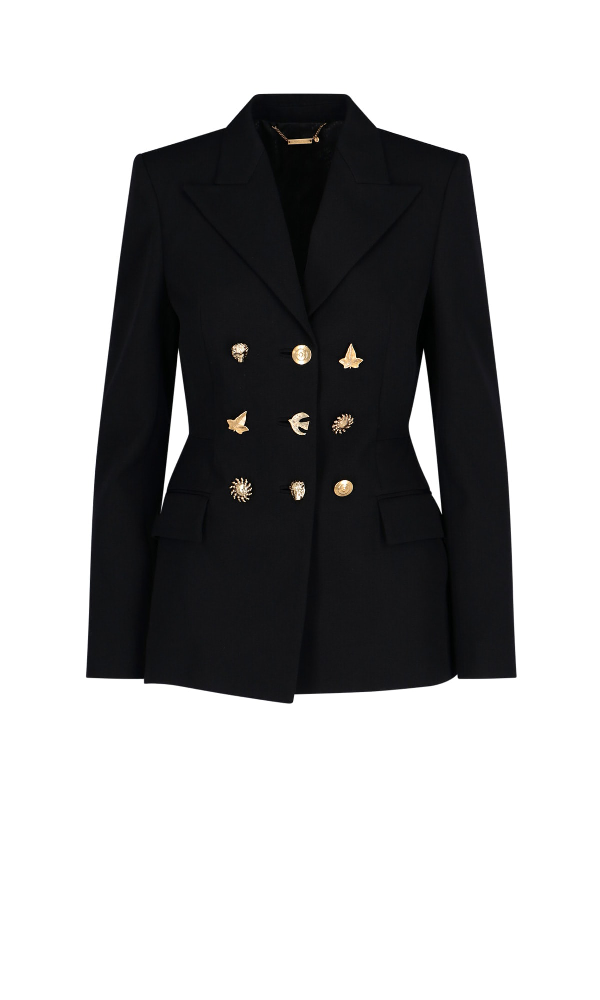 Givenchy Single-breasted Blazer In Black