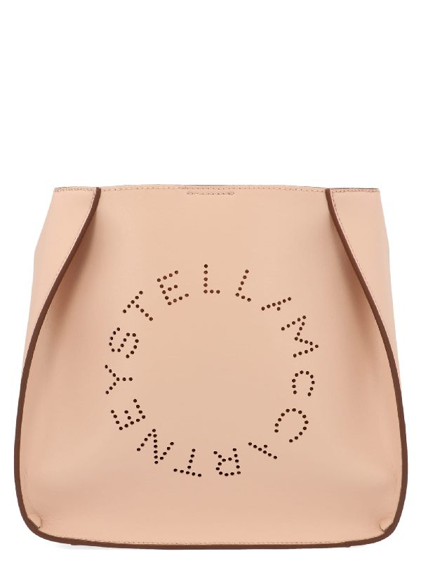 Stella Mccartney Stella Logo Bag In Rosa