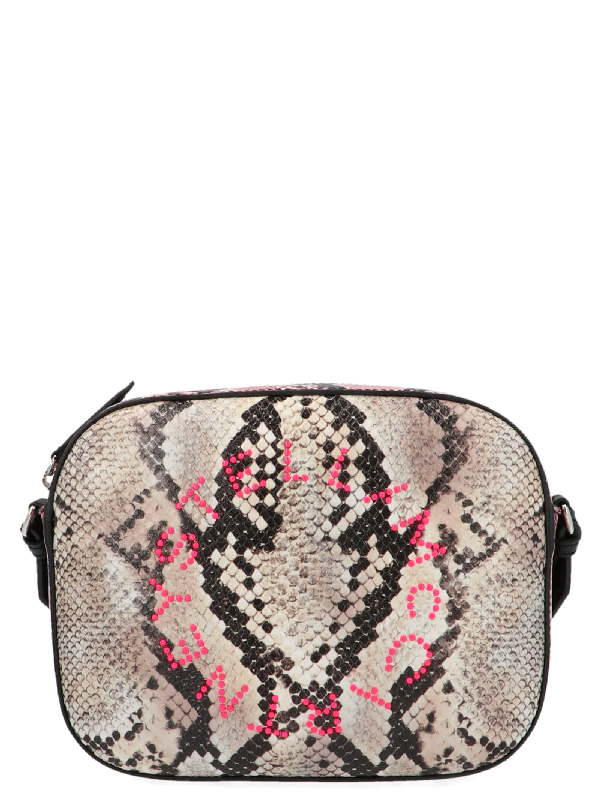 Stella Mccartney Stella Logo Bag In Multicolor