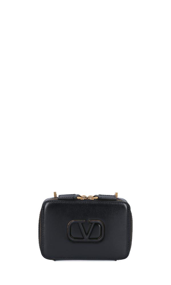 Valentino Garavani Vsling Camera Bag In Black