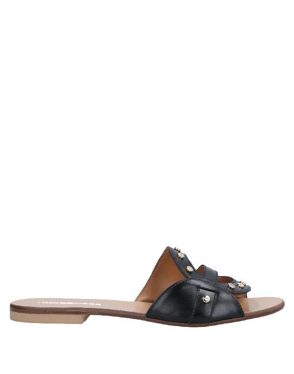 Borbonese Sandals In Black