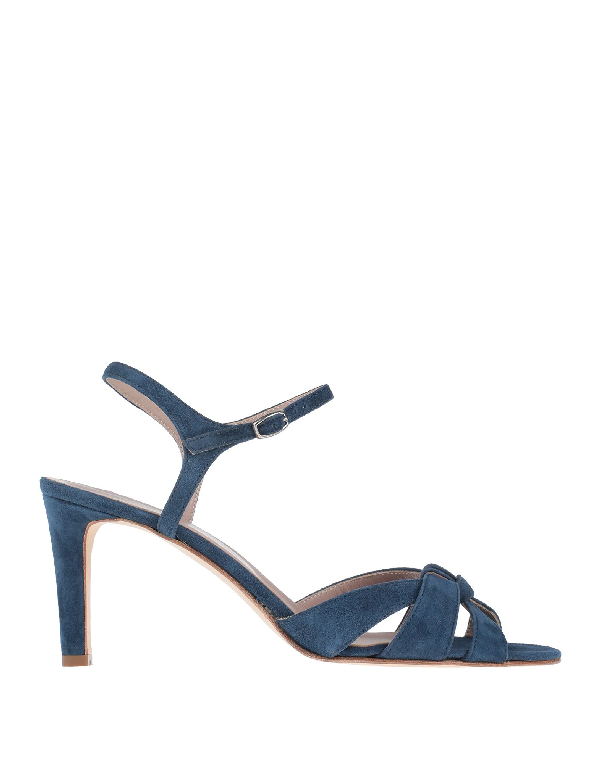 Cheville Sandals In Slate Blue