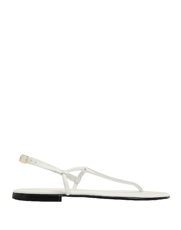 8 By Yoox Flip Flops In White