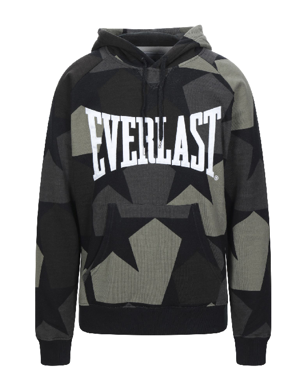 Everlast Hooded Sweatshirt In Military Green