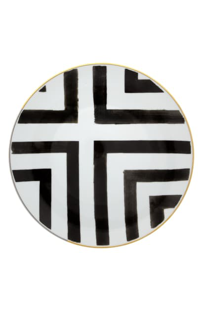Christian Lacroix Sol Y Sombra Dinner Plate In White