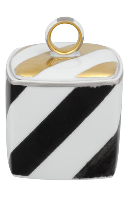 Christian Lacroix Sol Y Samba Sugar Bowl In White