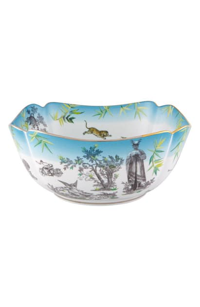 Christian Lacroix Reveries Salad Bowl In White