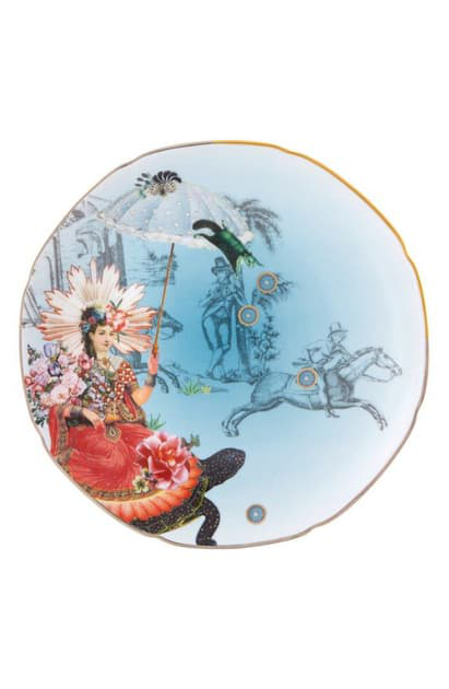 Christian Lacroix Reveries Dessert Plate In White
