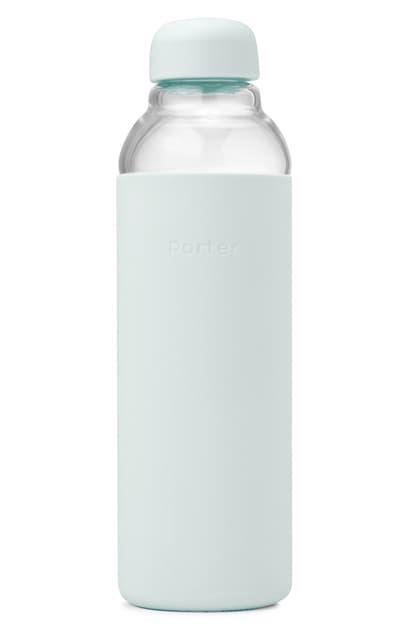 W & P Design Porter Resusable Glass Water Bottle In Mint